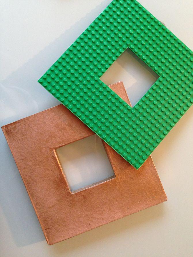 Etape 4 - Tuto cadre photo modulable LEGO