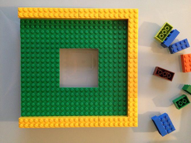 Etape 6 - Tuto cadre photo modulable LEGO