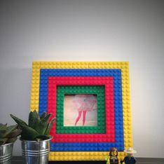 Tuto : réalisez un cadre photo pop en briques LEGO® !