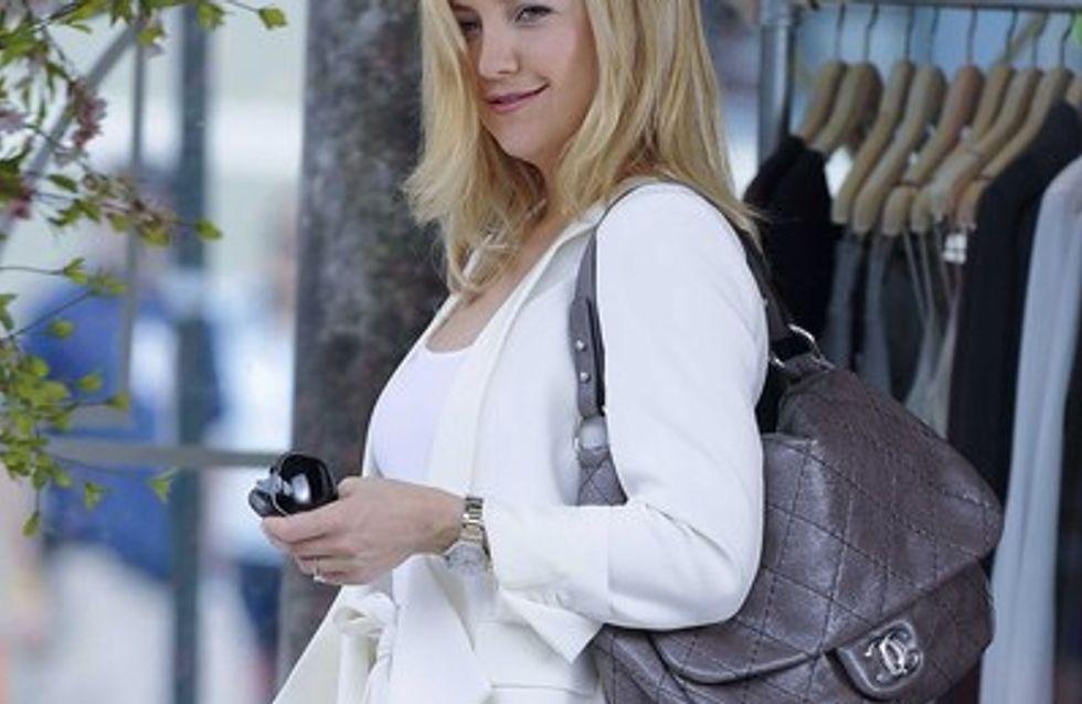 Kate Hudson pas encore prête pour la naissance de son bébé
