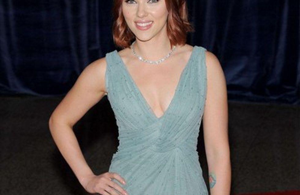 Photo : Scarlett Johansson en mode rouquine
