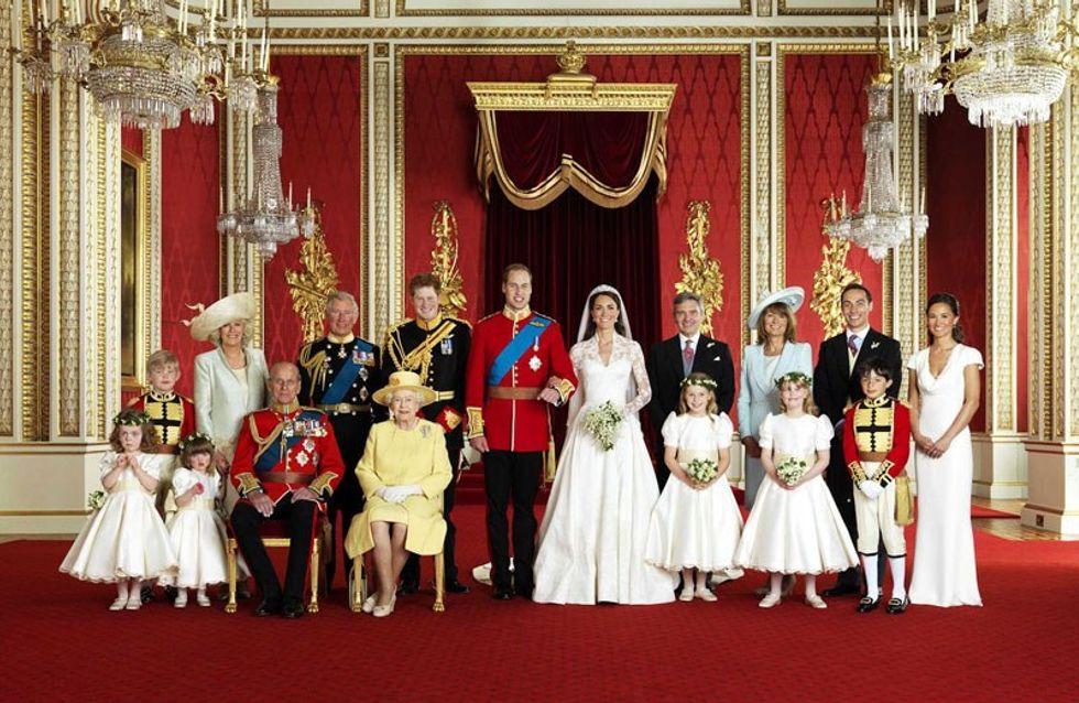 Mariage Kate et William : un ver sur la photo de mariage