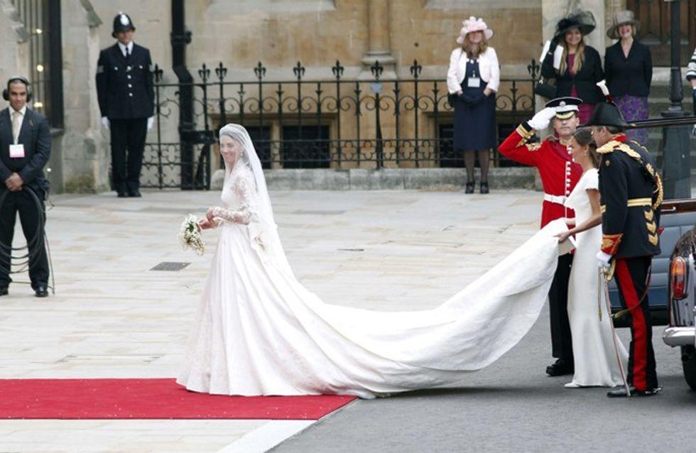 Mariage William et Kate : Sarah Burton, ses confidences sur la robe de Kate