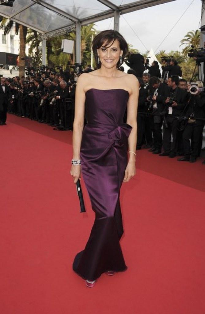 Ines de la Fressange Sleeping Beauty Cannes