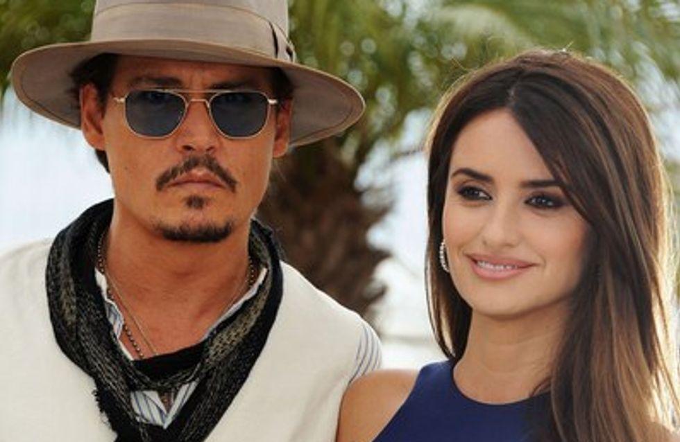 Cannes 2011: Johnny Depp et Penelope Cruz, palme du glam
