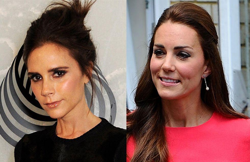 Victoria Beckham : Elle offre une paire de Louboutin à Kate Middleton