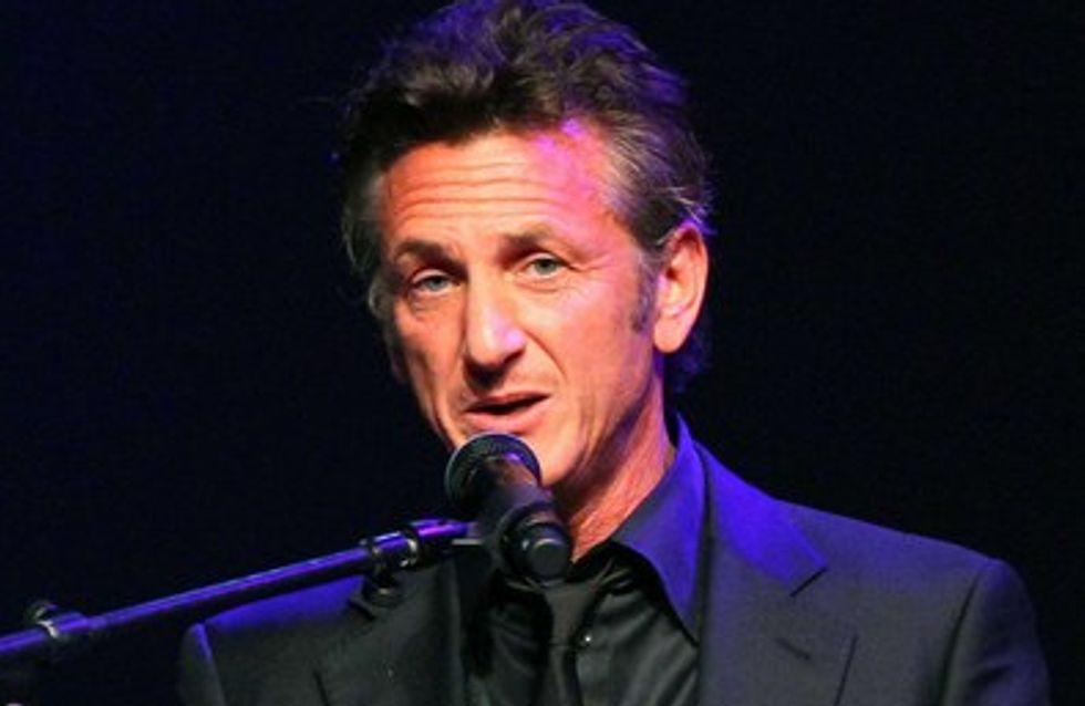 Cannes 2011: Sean Penn, coincé sur la Croisette