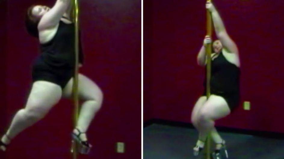 Schwer in Schwung! Wie Lulu an der Pole-Stange tanzt, haut uns wirklich um