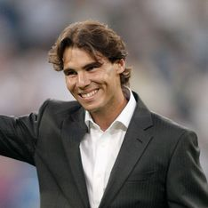 Rafael Nadal fête sa victoire à Roland Garros avec sa girlfriend