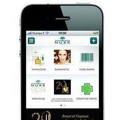 Nuxe lance son application sur Iphone