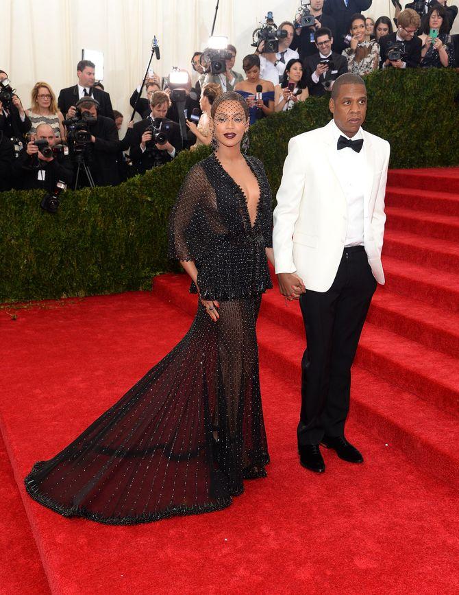 Beyoncé et Jay Z au Met Ball