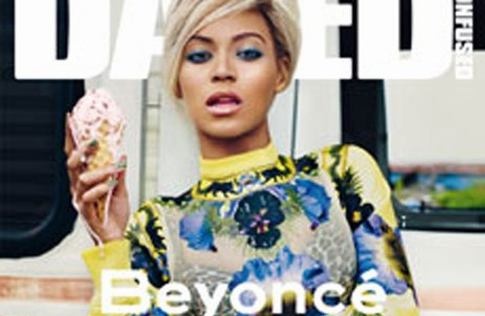 Beyoncé : blond platine !