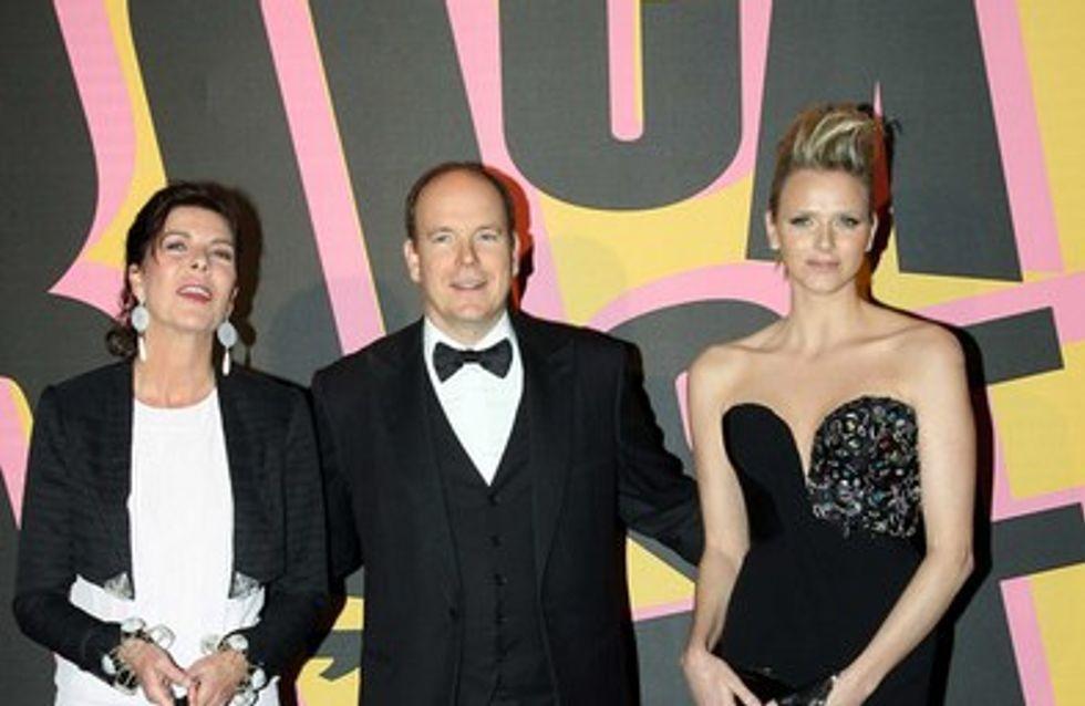 Mariage Albert de Monaco et Charlène : Caroline et Stéphanie soutiennent la mariée