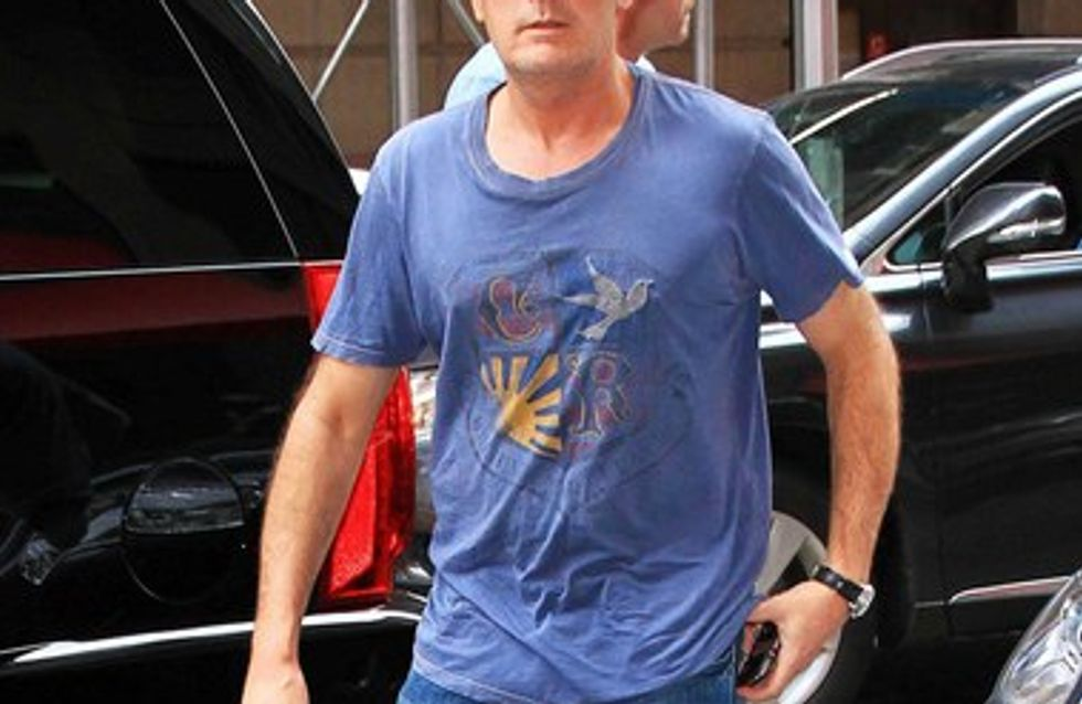 Charlie Sheen victime d'un accident de voiture !