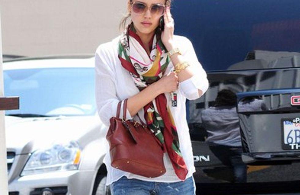 Jessica Alba : ses angoisses de femme enceinte