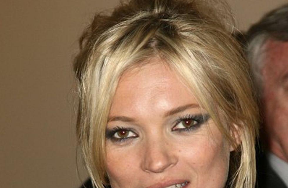 Kate Moss : elle pleure à son mariage