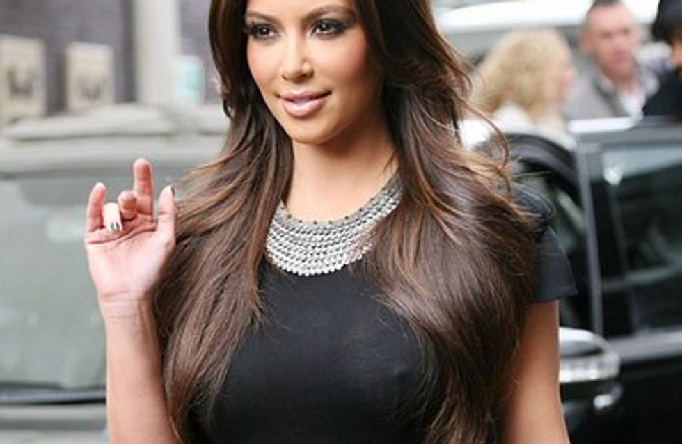 Kim Kardashian : découvrez-la sans maquillage !