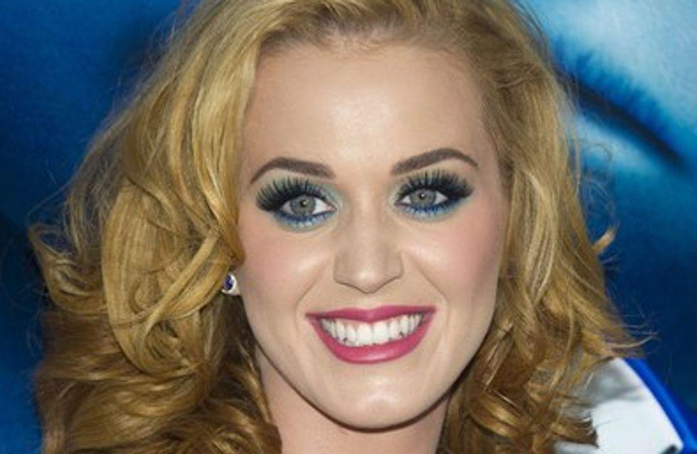 Katy Perry : reconnaissante que son mari Russell Brand ne boive plus