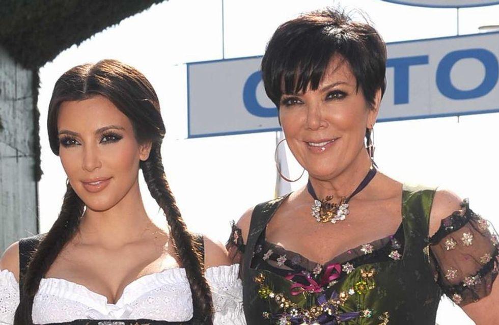 Kim Kardashian : sa mère lui met déjà la pression pour faire des bébés