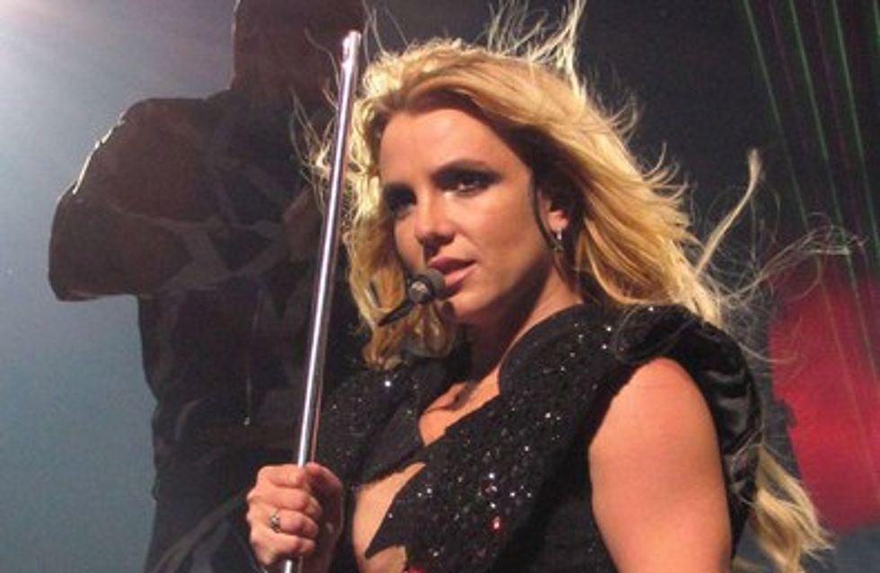 Britney Spears : Lady Gaga en VIP pour son Femme Fatale Tour
