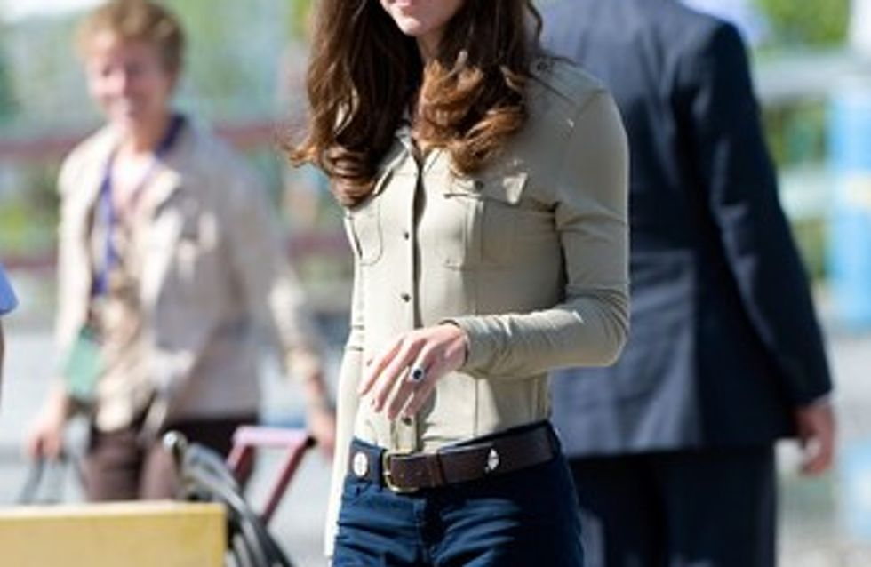 Kate Middleton se prive de nourriture !