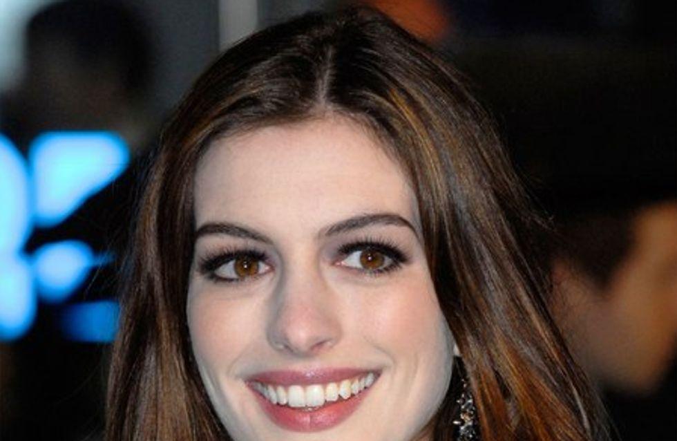 Anne Hathaway se met au rap