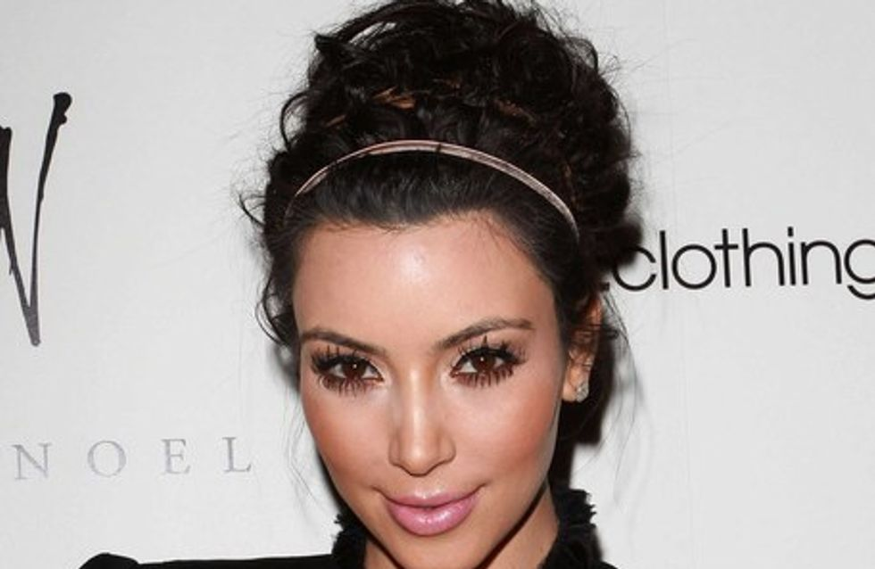 Kim Kardashian : on a la photo de sa robe de mariée !