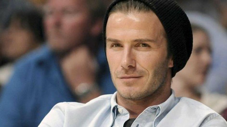 """David Beckham : """"L'allaitement est une chose incroyable"""""""