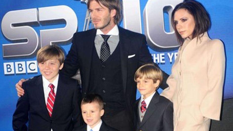 """David et Victoria Beckham : """"Nous gardons les pieds sur terre"""""""