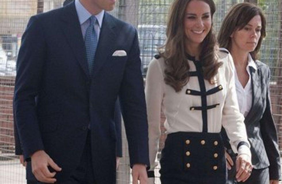 Kate et William à la rencontre de la population