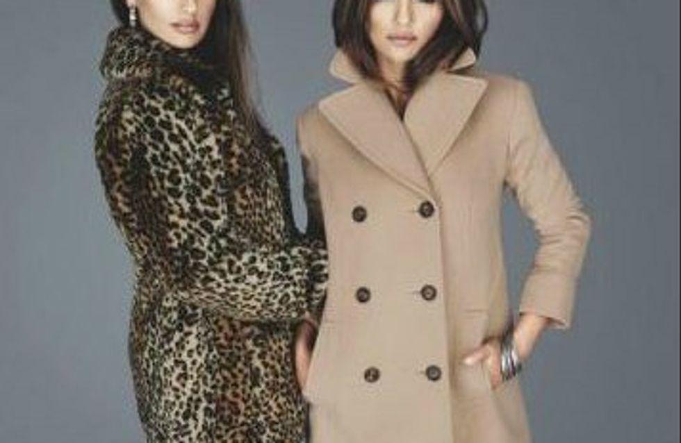 Penélope et Monica Cruz félines pour présenter leur collection de vêtements