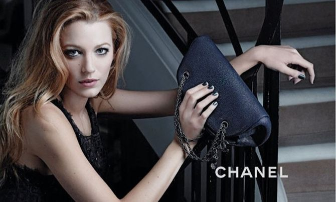Blake Lively pour Chanel mademoiselle