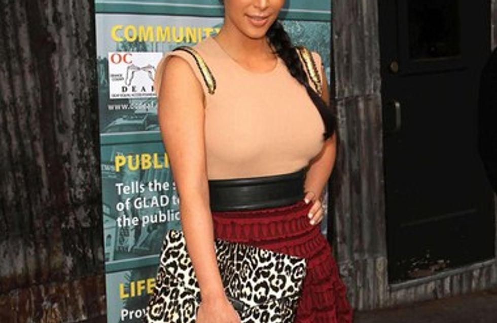 Kim Kardashian débarrassée de son psoriasis