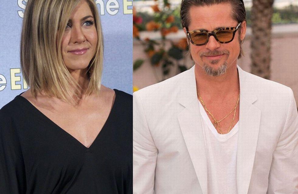 Brad Pitt : Je faisais semblant avec Jennifer Aniston