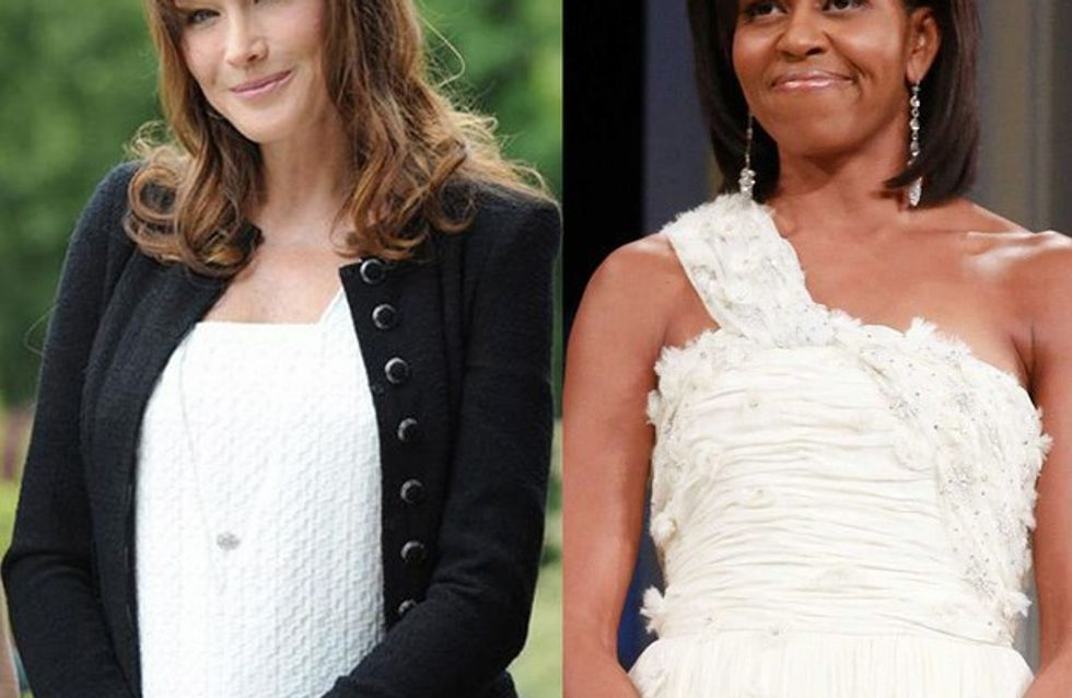 Carla Bruni-Sarkozy : un cadeau illégal de Michelle Obama ?