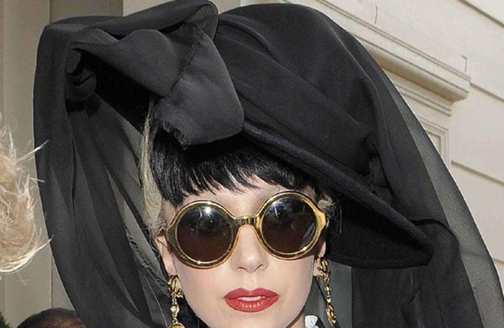 Lady Gaga en larmes sur scène