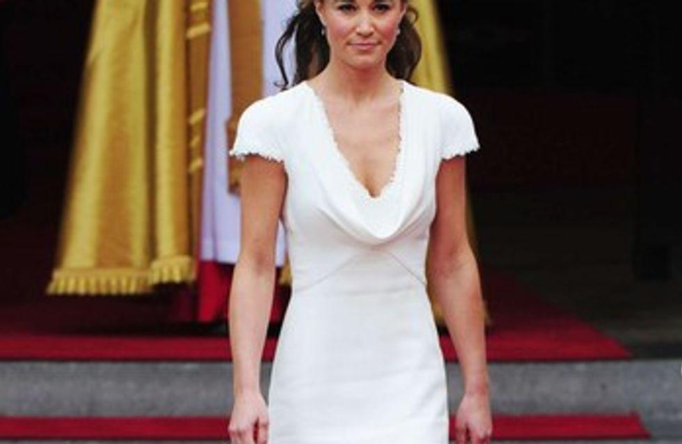 Pippa Middleton : comme elle voit sa robe de mariée...