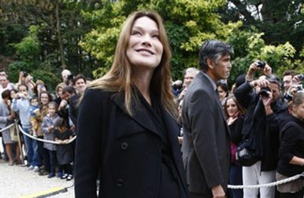 Carla Bruni-Sarkozy : serait-elle sur le point d'accoucher ?