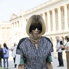 Fashion Week : Anna Wintour au premier rang du défilé Carven