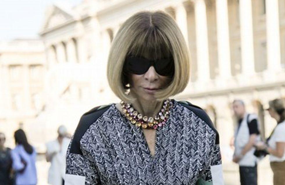 Fashion Week : Anna Wintour au premier rang du défilé Carven