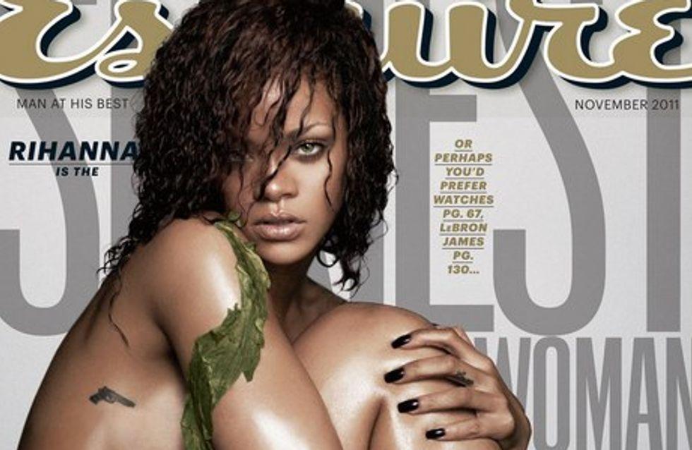 Rihanna : entièrement nue pour Esquire