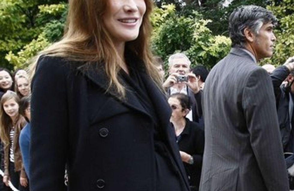 Carla Bruni-Sarkozy : elle ne voudrait pas de césarienne