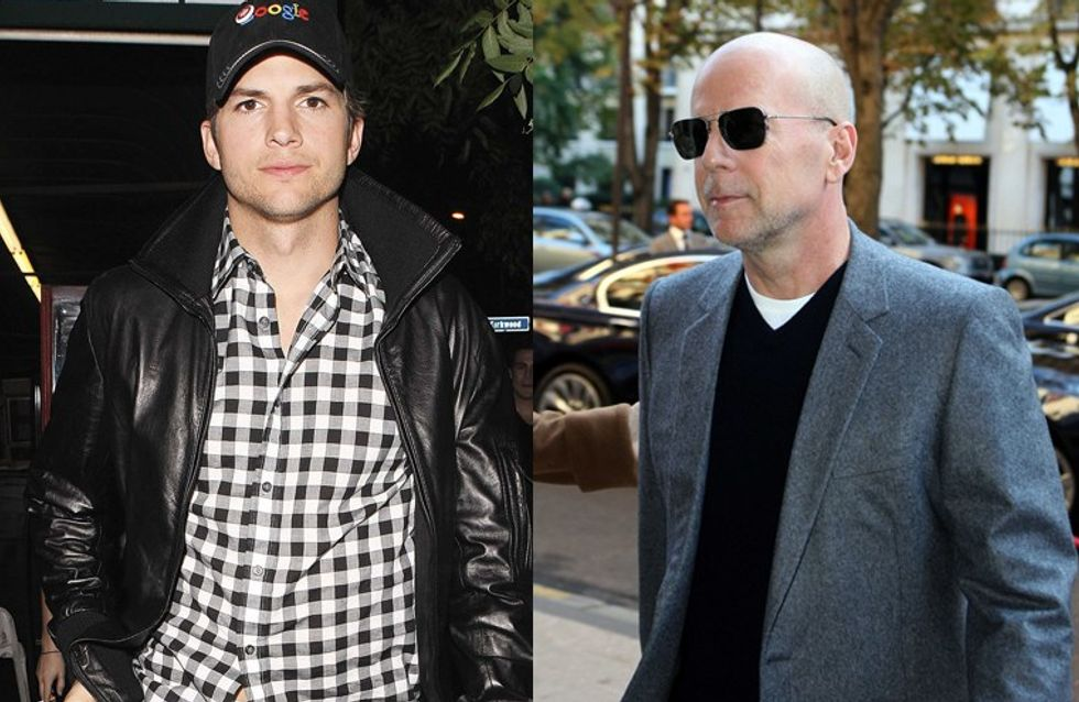Ashton Kutcher : Bruce Willis a une dent contre lui