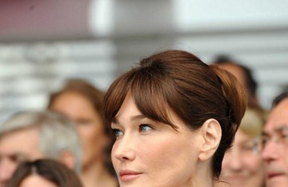 Carla Bruni-Sarkozy : découvrez les mensurations de la petite Giulia Sarkozy