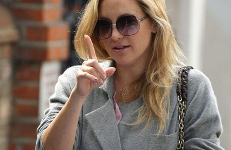 Kate Hudson : elle porte une perruque...