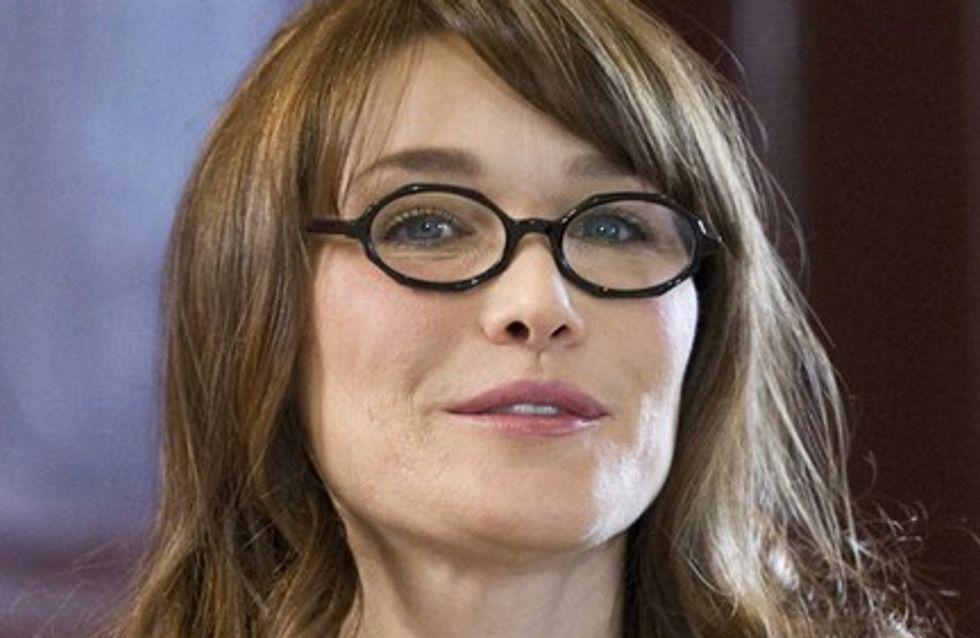 Carla Bruni-Sarkozy : vous aimez le prénom de la petite Giulia Sarkozy !
