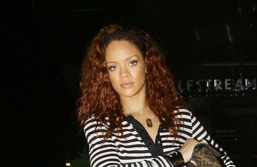 Rihanna à l'hôpital