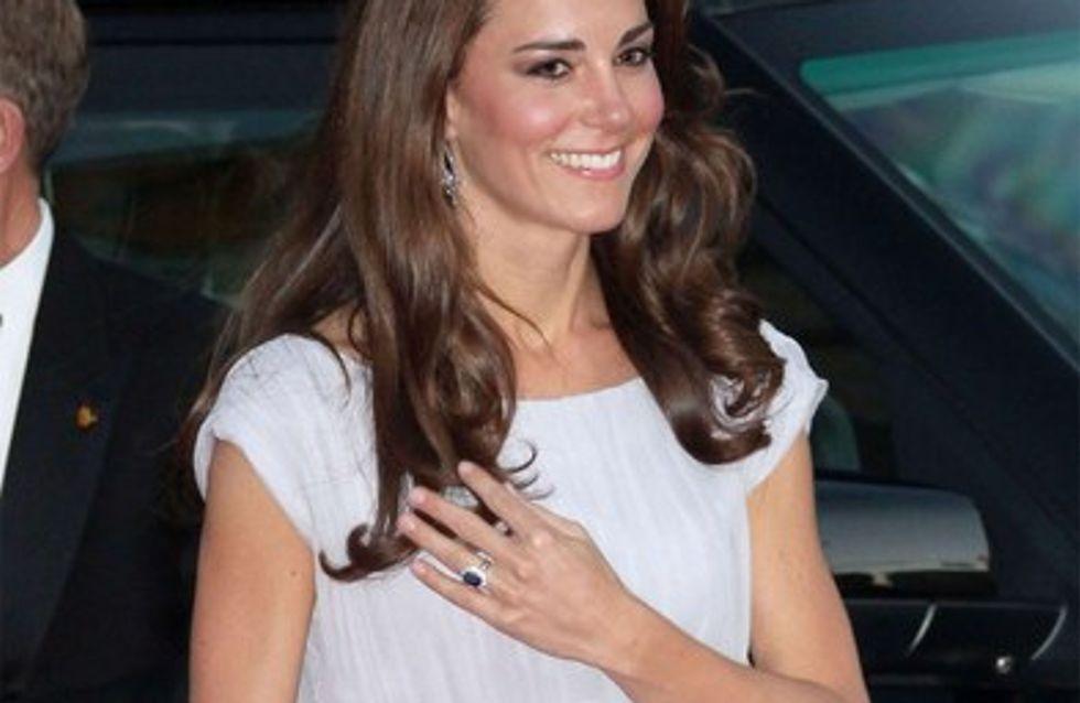 Kate Middleton élue Femme la mieux habillée d'Angleterre