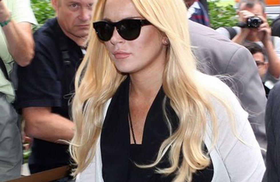 Lindsay Lohan : elle a passé 4h30 en prison