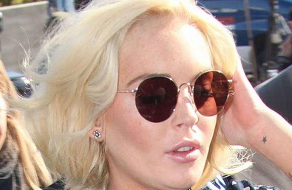 Lindsay Lohan effrayée par son court séjour en prison